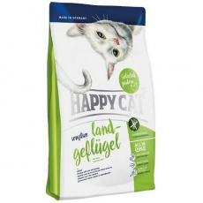 Happy Cat Sensitive Land Geflügel / Hydina 4 kg + DOPRAVA ZADARMO
