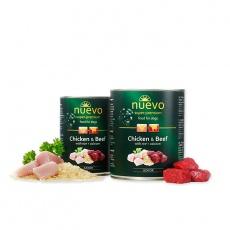 Nuevo Junior Hovädzie & Kuracie mäso  800 g