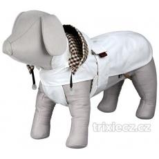 Obleček CERTALDO bílý, kapuce, flísová podšívka M 45 cm -