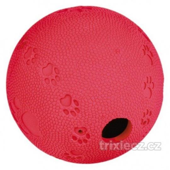 TRIXIE Labyrint, lopta na pamlsky, tvrdá guma 7 cm