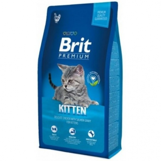 Brit Premium Cat Kitten  0,8 kg