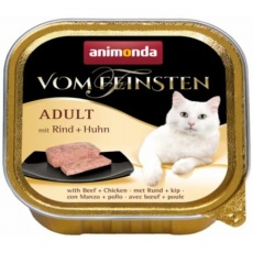 ANIMONDA paštika ADULT - hovězí, kuřecí pro kočky 100g