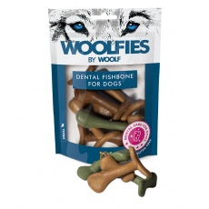 WOOLF pochúťka Dental Fishbone M  200g