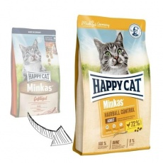Happy Cat Minkas Hairball Control Geflügel 1,5 kg