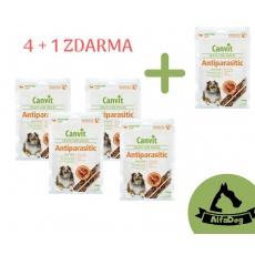 Canvit Snacks Anti-Parasitic 200 g 4 + 1 ZDARMA