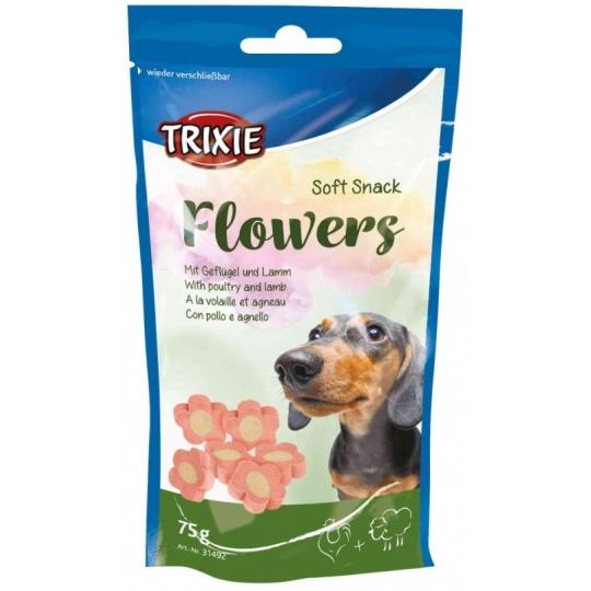 Soft Snack FLOWERS Light - mäkké kytičky jahňacie 75g