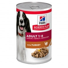 Hill's SCIENCE PLAN Adult Dog Food with Turkey  370g