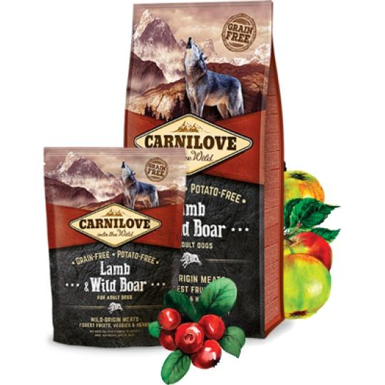 Carnilove Adult Dog Lamb & Wild Boar 1,5 kg