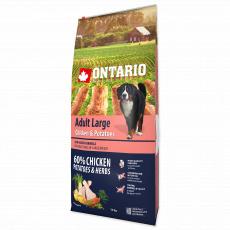 Ontario  Adult Large Chicken & Potatoes & Herbs 12 kg