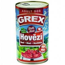 Grand Grex Hovädzie 4 x 1280 g