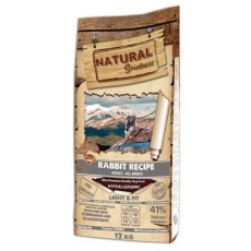 Natural Greatness Rabbit Recipe All Br.Light,Fit /králik/ 12kg