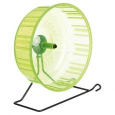 Tréninkové kolo s kovovým stojanem pro křečky,plastové 23 cm - DOPRODEJ