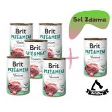 Brit konzerva Paté & Meat Venison 400 g
