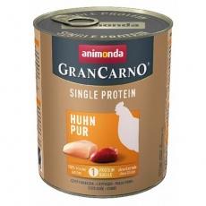 GRANCARNO Single Protein 800 g čisté kuřecí, konzerva pro psy