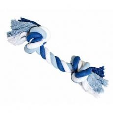 Uzel HipHop bavlněný 2  knoty 41 cm / 460 g tm.modrá, sv.modrá, bílá