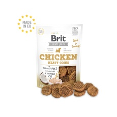 Brit Jerky Chicken with Insect Meaty Coins 200g