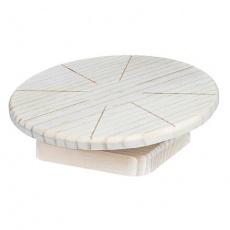 Dřevěný běhací disk pro křečky a myši 20 cm