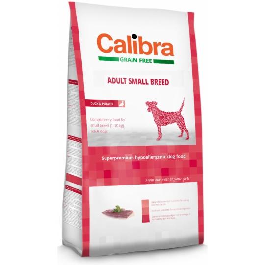 Calibra Dog GF Adult Small Breed Duck 7 kg