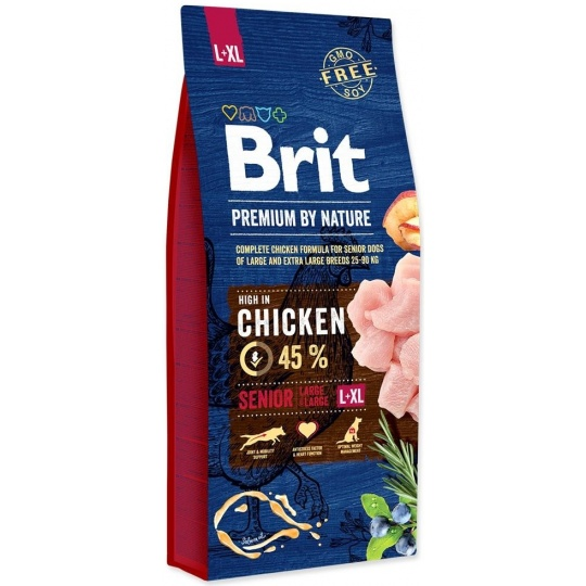 Brit Premium by Nature Senior L + XL 15kg