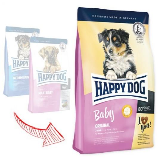 Happy Dog Supreme Baby Original 18 kg + DOPRAVA ZADARMO