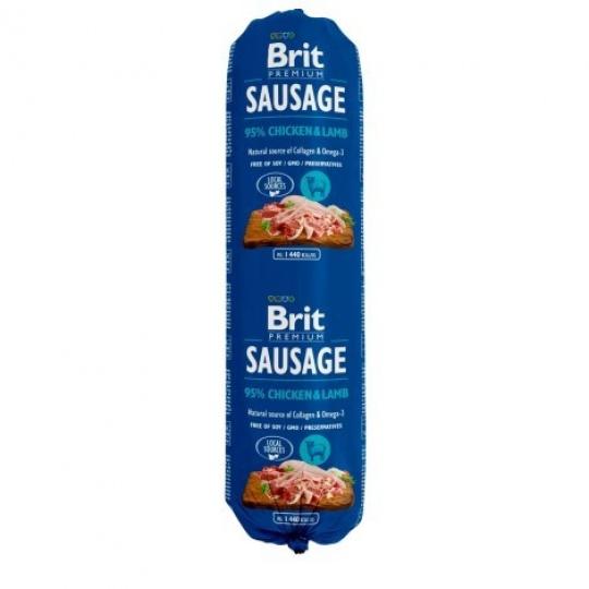 BRIT Sausage  Dog Chicken & Lamb 800 g