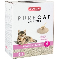 Podstielka PURECAT antibacterial scent clump 4l Zolux