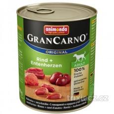 Animonda Gran Carno Adult Hovädzie & Kačacie srdce  800 g
