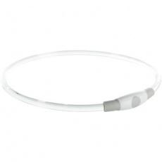 Flash light ring USB, blikací obojek,  S-M: 40 cm/ ø 8 mm (RP 2,10 Kč)