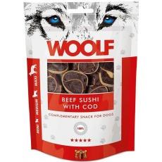 WOOLF pochúťka beef sushi with cod 100g