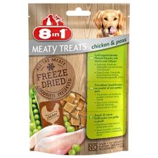 Freeze Dried Meaty Treats 50g Kura s hráškom