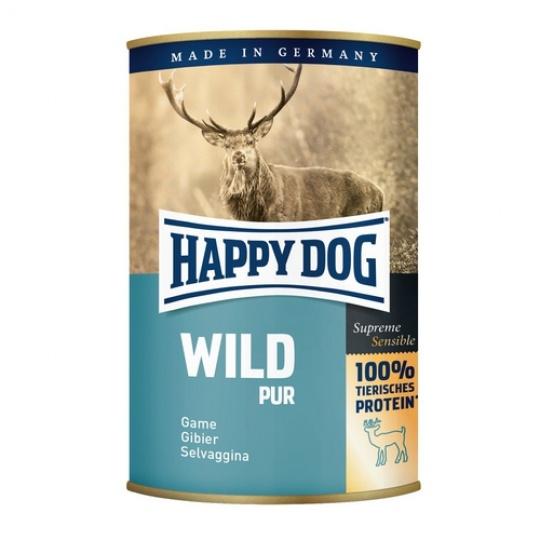 Happy Dog Konzerva Wild Pur Divinové mäso 400 g