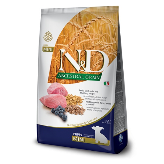 N&D Dog Low Grain Puppy Mini Lamb & Blueberry 2,5 kg