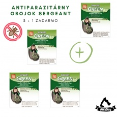 Sergeanťs Green obojok 35 cm