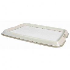 Plastové WC na podložky / pleny pro štěňata 65x55 cm