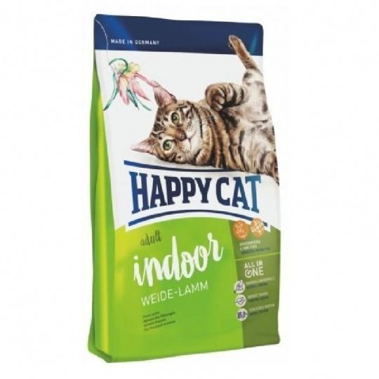 Happy Cat Adult  Indoor Weide-Lamm 300 g