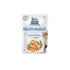 Brit Care Cat Pouch Choice Chicken with Cheese in Jelly 85g