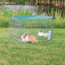 Síť se sluneční ochranou na pozinkovanou ohrádku 6250/6253 pro králíčka