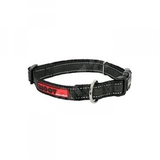 Zolux Obojok pes MOOV nastaviteľný čierny 25mm 45-58cm