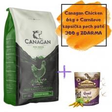 CANAGAN Free Range Chicken 6 kg + DOPRAVA ZDARMA