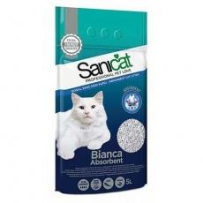 SANICAT BIANCA absorbent bílý bentonit 5 l /4 kg