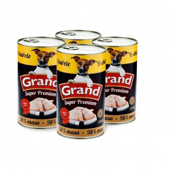 Grand SuperPremium 1/2 Kura 4 x 1 300 g