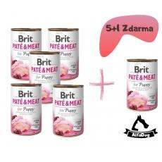 Brit konzerva Paté & Meat Puppy 800 g