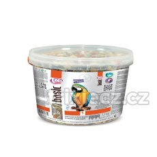LOLO BASIC kompl.krmivo pro velké papoušky 3L/1,5kg kyblík
