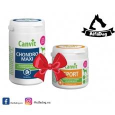 Canvit Chondro Super 500g +  Canvit Sport Maxi 230g