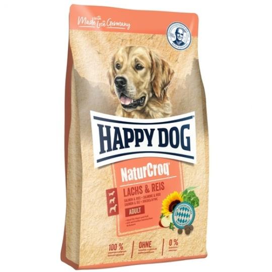 Happy Dog NaturCroq  Lachs & Reis Losos & Ryža 12 kg + DOPRAVA ZDARMA