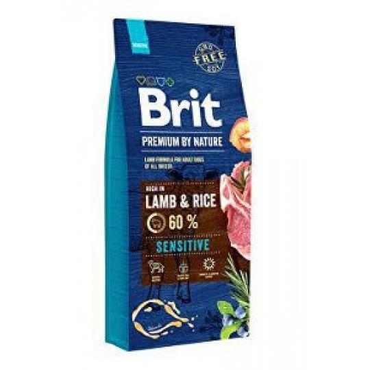 Brit Premium Dog by Nature Sensitive Lamb  8 kg