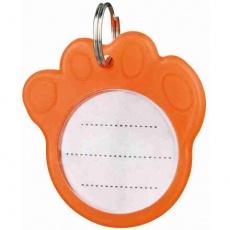 Adresář fosforescentní oranžový 3,5 cm