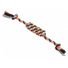 Válec JUMBO HipHop bavlněný s 2 knoty, šedá, tm.šedá, oranžová