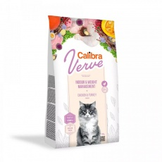 Calibra Cat Verve GF Indoor&Weight Chicken 750g