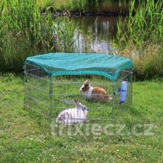 TRIXIE Ohrádka pre zvieratá  6 dielov 63x58cm vrátane ochrannej siete